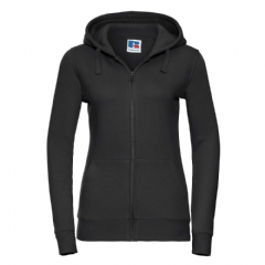 THURSO HIGH SCHOOL LADIES ZIPPED HOODIE WITH LOGO